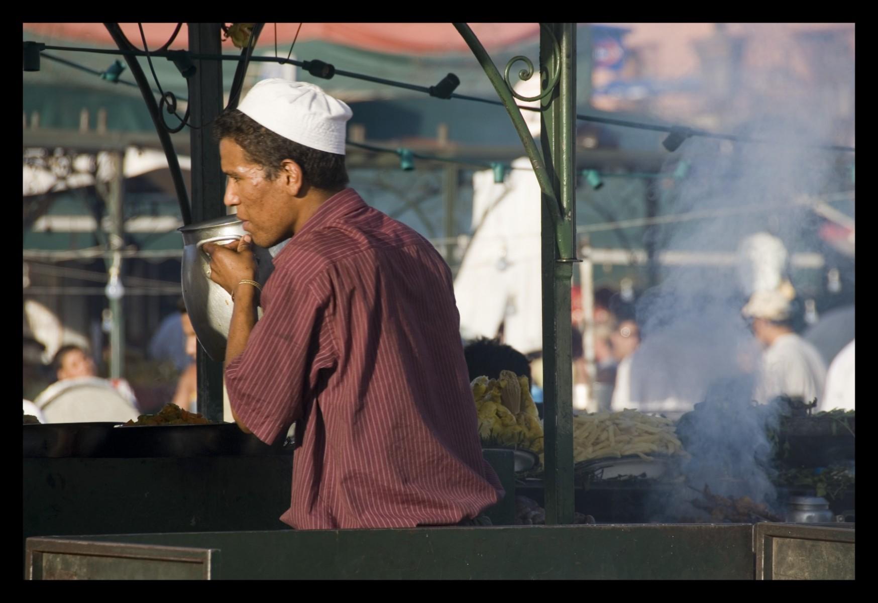 88614_DSC0137-jamal-el-fna-food-vendor Storie di Luce
