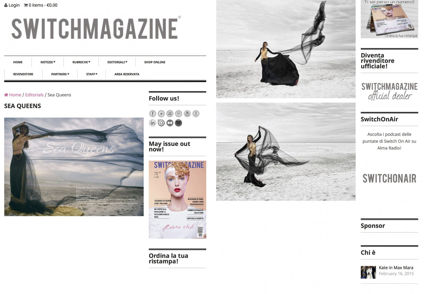 Sea-Queens-Switch-Magazine Fashion/Adv