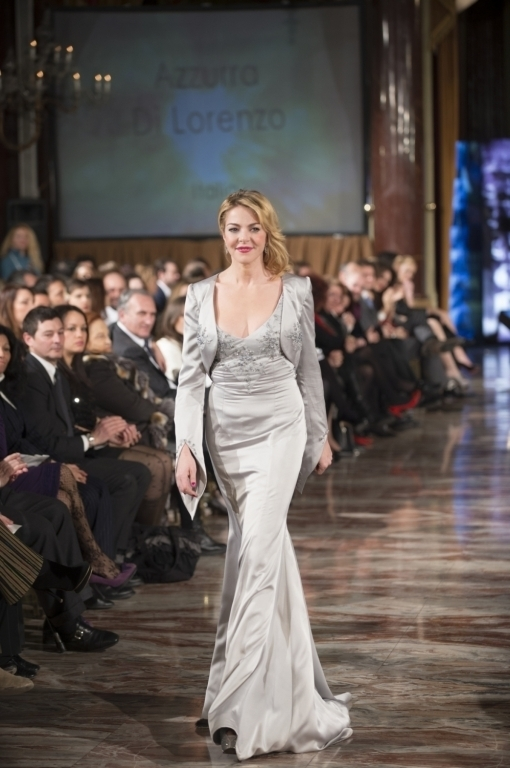 Claudia Gerini per Azzurra Di Lorenzo