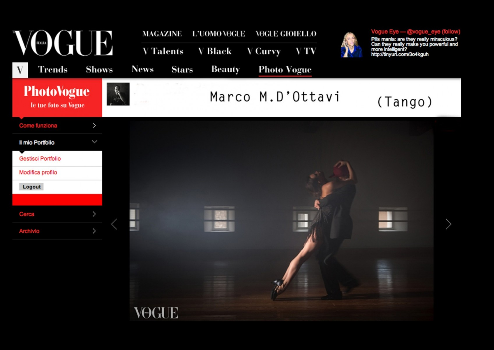 Tango on Vogue